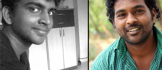 Dalit students who were victims of systemic forms of caste discrimination in higher education, Aniket Ambhore (left) and Rohith Vemula (right).